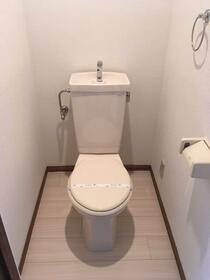 メルベーユ 102号室のトイレ