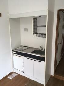メルベーユ 102号室のキッチン