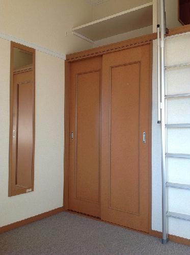 レオパレスグレープヒルA 210号室の収納