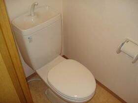 ハイリスベーネ池下 D-2号室のトイレ