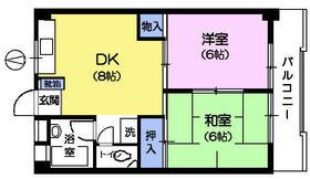 第2長谷川マンション・108号室の間取り