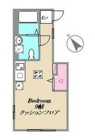Bamboo House 三鷹(バンブーハウスミタカ)・102号室の間取り