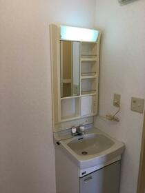 エバーグリーン 201号室の洗面所