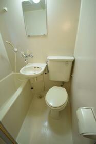 メゾンうの木 102号室のトイレ
