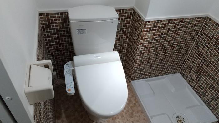 ドーリアNIJO駅前東 02号室のトイレ