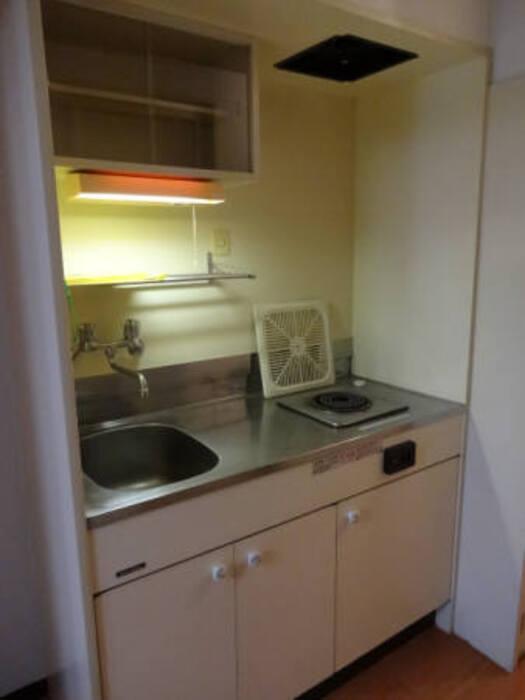 グランドハイツ西公園 502号室のキッチン