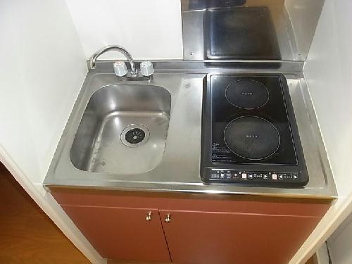 レオパレスドミール優 203号室のキッチン
