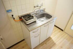 グリーンヒル西川口 107号室のキッチン