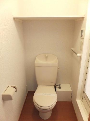 レオパレスボルツアーノ 101号室のトイレ