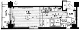 アプレシティ浮間舟渡・503号室の間取り