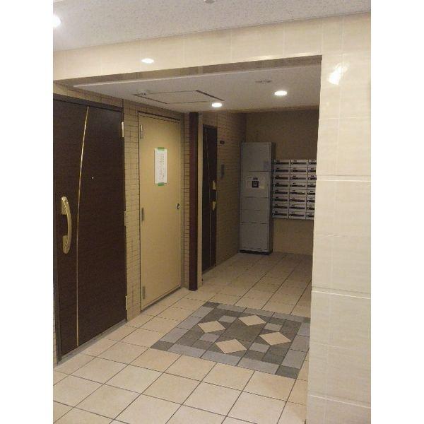 シティライフ本山東 107号室のエントランス