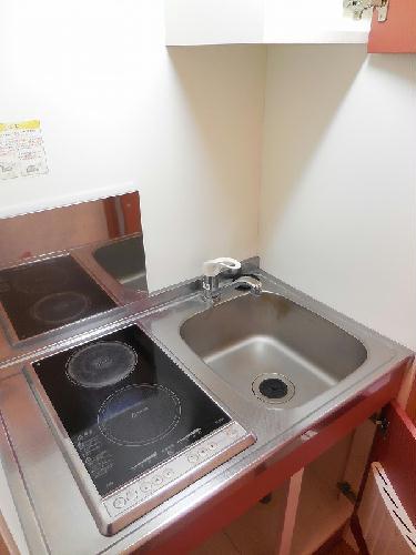 レオパレスキャンサーⅡ 101号室のキッチン
