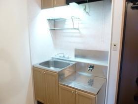 ユニオンF 202号室のキッチン