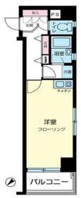 リバーシティ日本橋・601号室の間取り