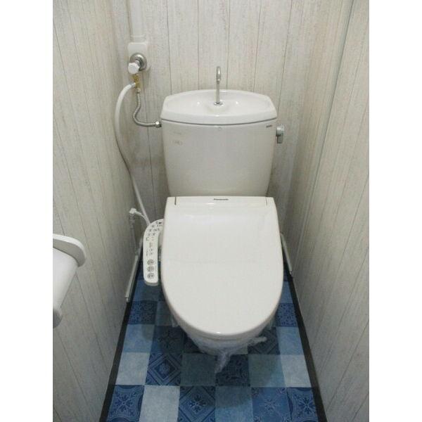 光レジデンス北館のトイレ