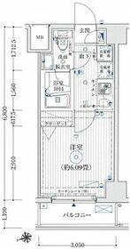 リライア東京イーストレジデンス・102号室の間取り