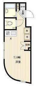 LiveCasa Itabashihasune・0304号室の間取り