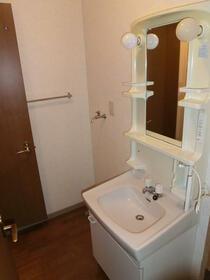 ソフィアスズキ 202号室の洗面所