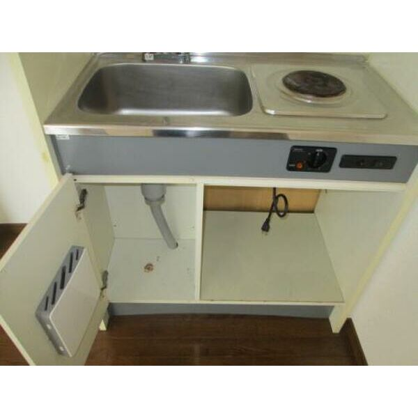プレアール下新庄Ⅱ 405号室のキッチン