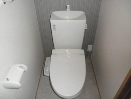 ルーナ・クレシェンテ A棟のトイレ