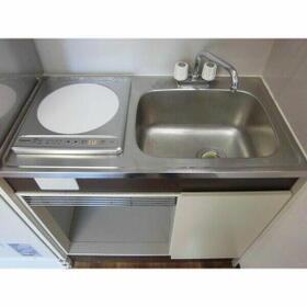 グランパーク西公園(旧サンコーポ西公園) 506号室のキッチン