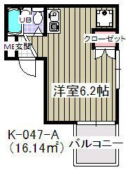 ローズガーデン千石・0201号室の間取り