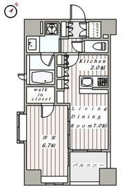 デュオ・スカーラ西麻布タワーEAST・901号室の間取り