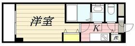 メゾン・ド・ヴィレ 品川・0504号室の間取り