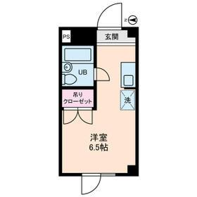 石神井台高野マンション・0203号室の間取り
