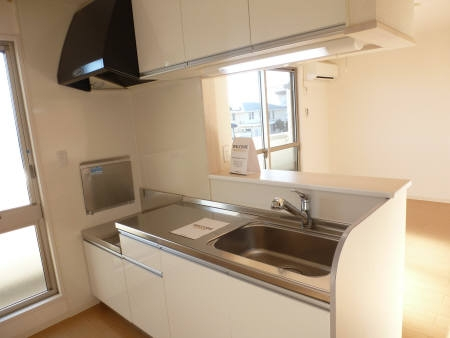 グラスミア 305号室のキッチン
