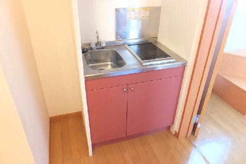 レオパレスHOPE 101号室のキッチン