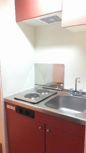 レオパレスKM 103号室のキッチン
