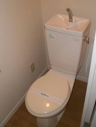 レオパレスGIOIA 206号室のトイレ