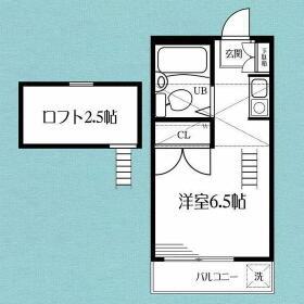 D-CASA横浜羽沢・202号室の間取り