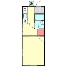 ホワイトハウス松本・00101号室の間取り