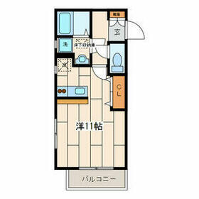 Lanai Inamura・301号室の間取り