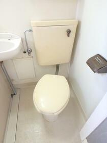 境南ベルメゾン 0201号室のトイレ