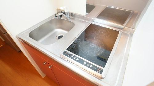 レオパレスセジュールⅢ 204号室のキッチン