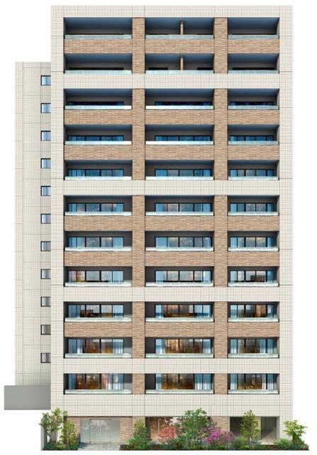 イニシア築地レジデンス 808号室の外観