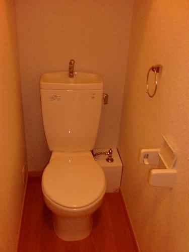 レオパレスEchoのトイレ
