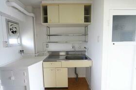 ビレッジハウス長岡1号棟のキッチン
