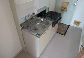 パナフラッツ60 101号室のキッチン