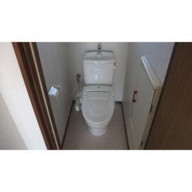 かすみコーポA棟 202号室のトイレ
