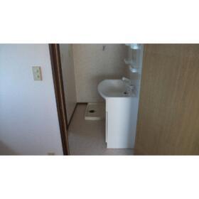 かすみコーポA棟 202号室の洗面所
