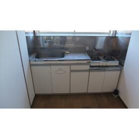 かすみコーポA棟 202号室のキッチン