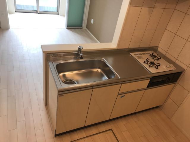 (仮称)千葉市中央区塩田町新築アパート 101号室のキッチン