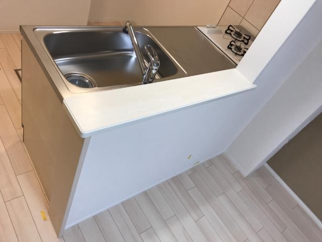 (仮称)千葉市中央区塩田町新築アパート 102号室のキッチン