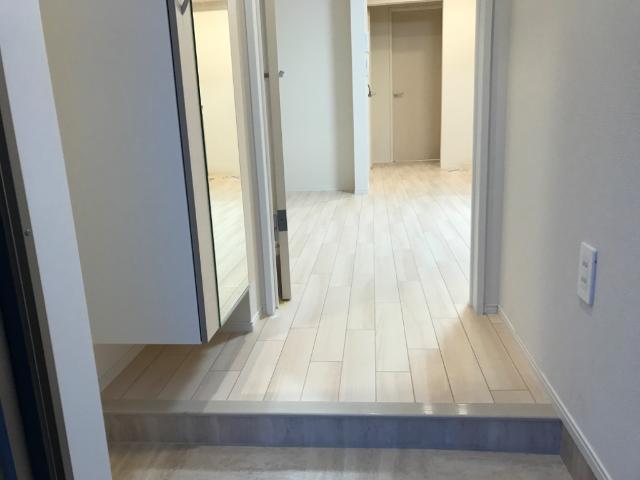(仮称)千葉市中央区塩田町新築アパート 103号室の洗面所