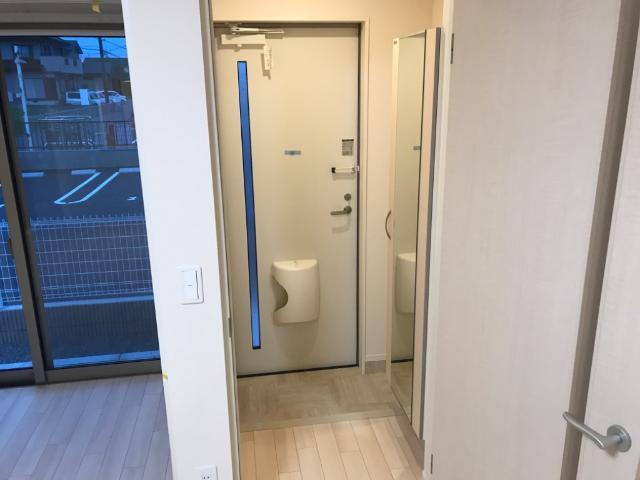 (仮称)千葉市中央区塩田町新築アパート 103号室の玄関