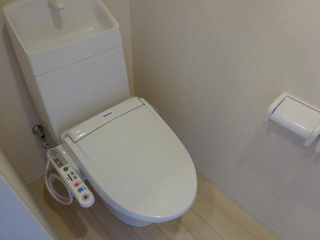 (仮称)千葉市中央区塩田町新築アパート 202号室のトイレ